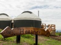 Yurt Heather sign 850x450