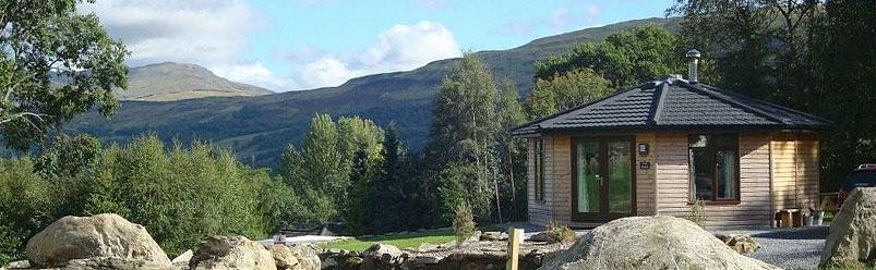 woodland cabins